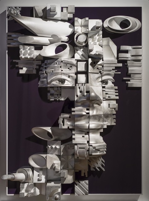 Gil Bruvel, 'Cubist #9', Sculpture, Wood and resin on wood panel, Octavia Art Gallery