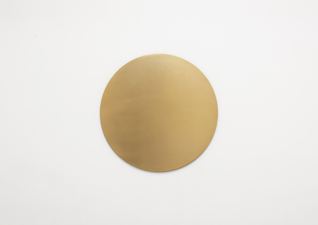 , 'Untitled (Golden Circle),' 2013, Galerie Micheline Szwajcer