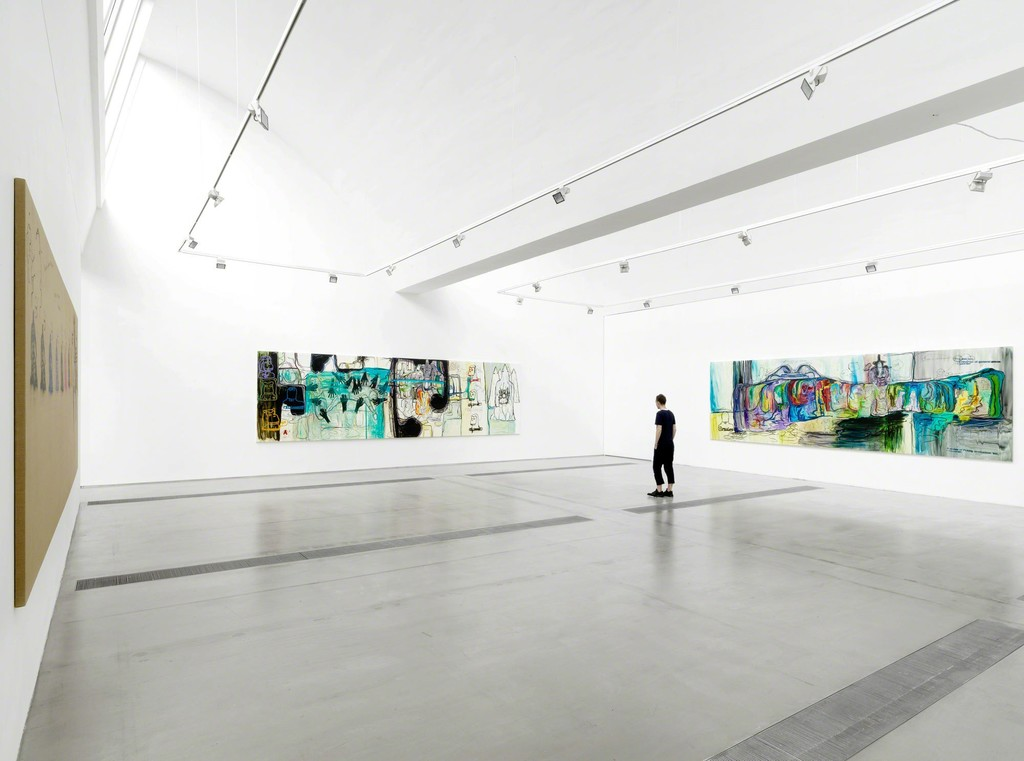 Installation view of exhibition 'Bjarne Melgaard: Bitter Angel', Faurschou Foundation, Bejing, 2015. Photo by Jonathan Leijonhufvud, © Faurschou Foundation