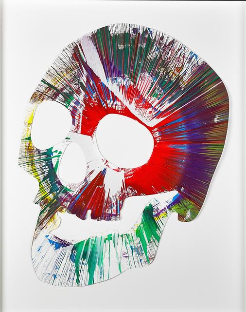 , 'Skull Spin Painting,' 2009, Opera Gallery