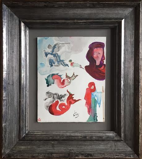 Salvador Dalí, 'Angels and Various Figures', ca. 1951, Robin Rile Fine Art