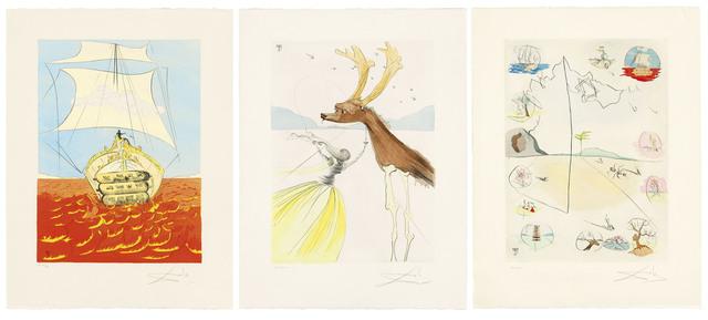 Salvador Dalí, 'The Twelve Tribes of Israel', 1973, Christie's