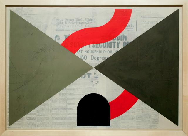 , 'Flag for an Alternate Passage,' 2016, Paradigm Gallery + Studio