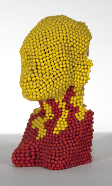 David Mach, 'Matchstick Head (small yellow head and red shoulders)', Heather James Gallery Auction