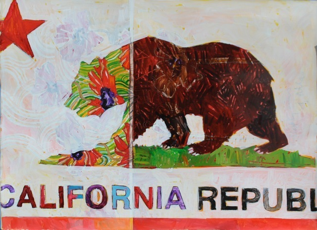 Miles Hermann, 'Divided California', Tim Collom Gallery