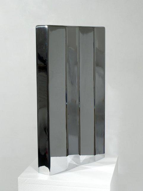 Eduardo Paolozzi, 'Untitled', 1968, Sculpture, Chromed steel, Flowers