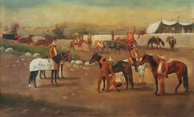 """, '""""El tapaboca"""",' ca. 1915, GALERÍAS A. CRISTOBAL"""