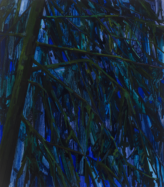 , 'Night and Trees,' 2016, Kavi Gupta