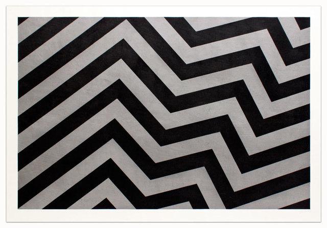 , 'Irregular Bands Black and Gray,' 1994, Alan Cristea Gallery