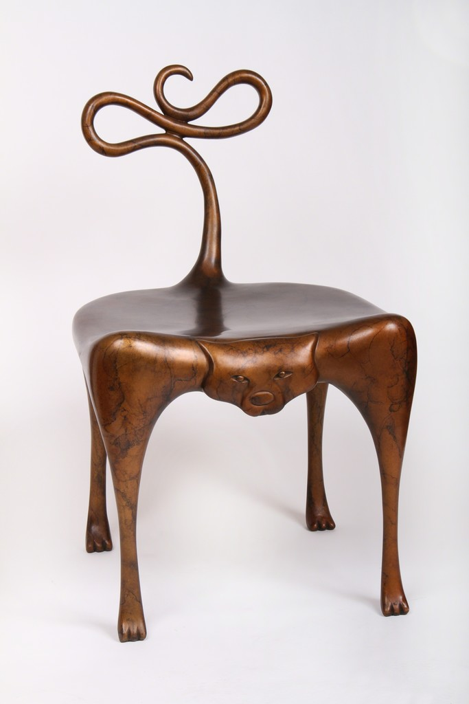 Judy Kensley Mckie Cat Chair 2012 Available For Sale Artsy