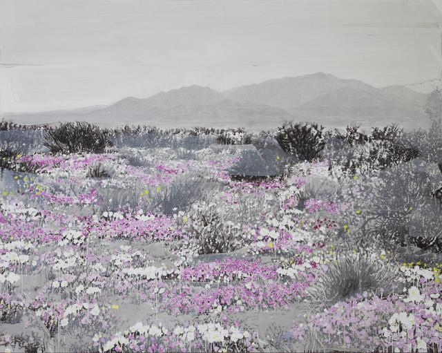 , 'Landscape and Pink and White,' 2015, Almine Rech