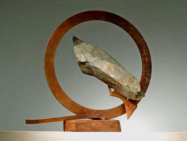 John Van Alstine, 'Sisyphus (Beijing Series II)', 2007, Sculpture, Slate and bronze, C. Grimaldis Gallery
