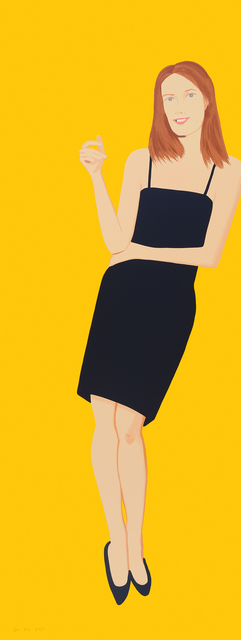 , 'Black Dress (Sharon),' 2015, McClain Gallery