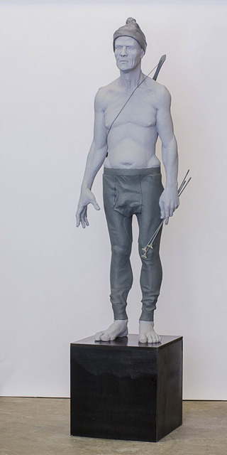 , 'Man with Child's Bow and Arrows,' 2013, AREA Gallery