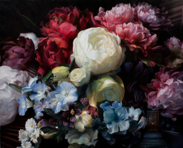 , 'Stairs and Flowers,' 2015, Gallery 1261