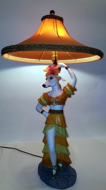 , 'Whippet Lamp Her,' , Zenith Gallery