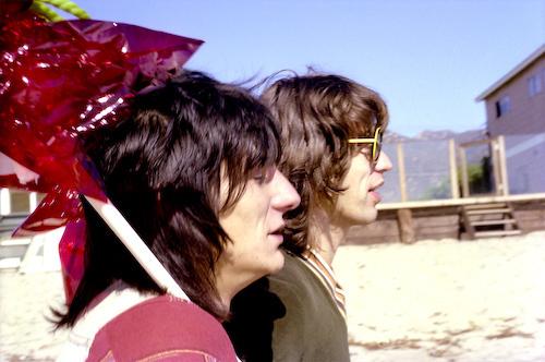 , 'Balloons, Mick Jagger and Ronnie Wood (Malibu, California),' 1976, KM Fine Arts