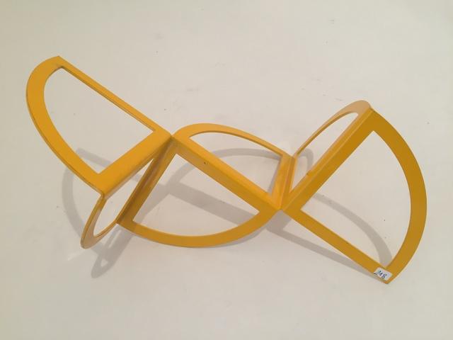 Carlos Evangelista, 'Open circles. Yellow 18/25', ca. 2010, Sculpture, Lacquered steel, Galería Marita Segovia