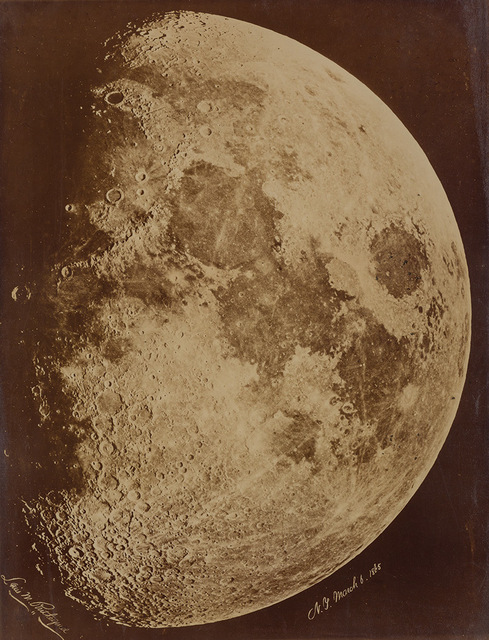 Lewis Rutherford, '[The Moon] N.Y.', 1865, Photography, Doyle