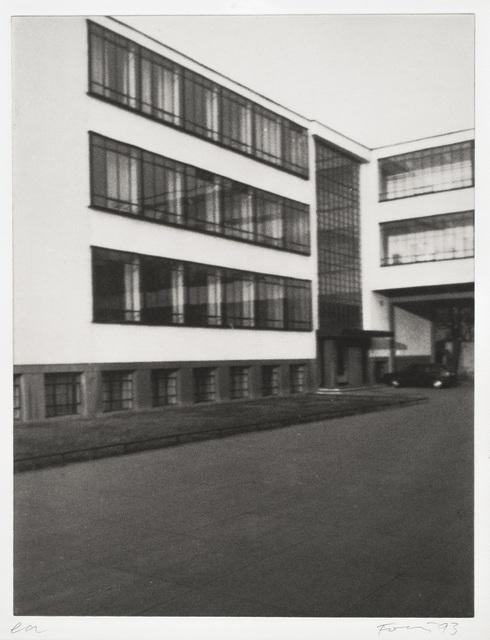 , 'Bauhaus - 2,' 1991-1993, Galerie Lelong & Co.