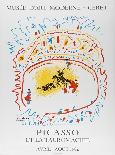 Pablo Picasso, 'Picasso et la Tauromachie', 1982, Print, Offset lithographic poster printed in colours on smooth wove paper, Forum Auctions