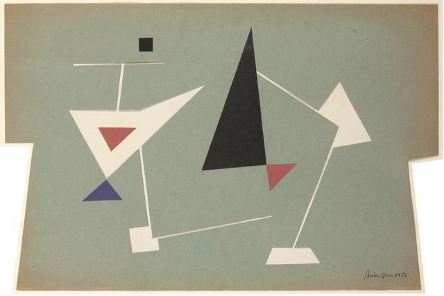 Carmelo Arden Quin, 'Triángulos', 1956, Galería de las Misiones