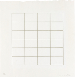 Agnes Martin, 'Untitled,' 1973, Phillips: Evening and Day Editions