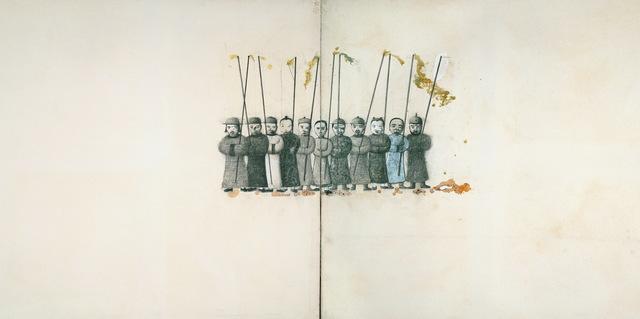 Ji Dachun 季大纯, 'Idols-heroes of water margin', 1999, Aye Gallery