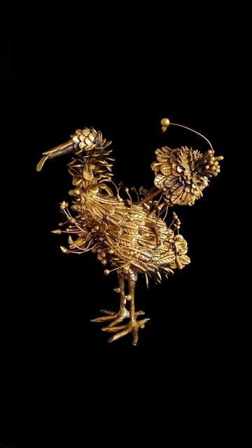 "Fi Lee, '<The Encyclopedia of Phanerozoic Eon. Cenozoic era, Leeficene> 00012 Animalia, Chordata, Aves, Ciconiiformes, Ciconnidae, Ciconia ""Birdwhosefeathersarethefangsofangrydogs""', 2018, GALLERY SU:"
