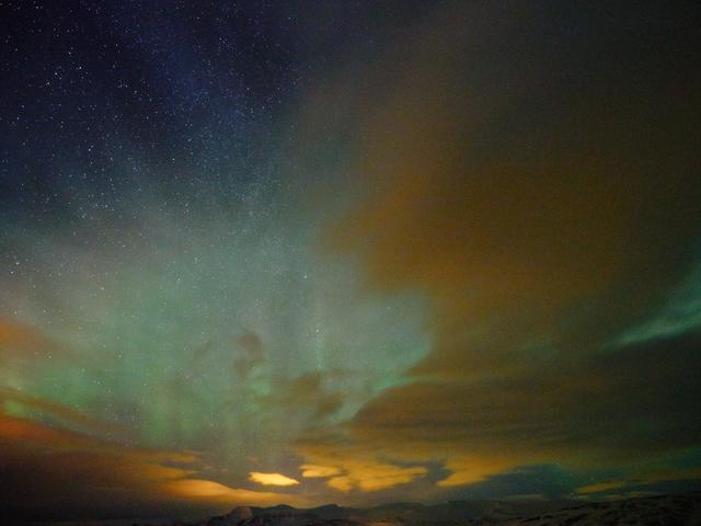 , 'Aurora Borealis, Iceland,' 2015-2016, Holden Luntz Gallery