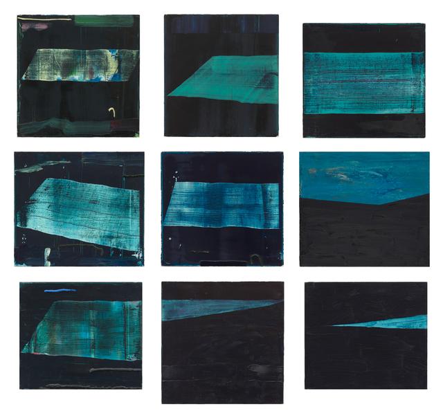 , 'Night Pools,' 2014, Inman Gallery