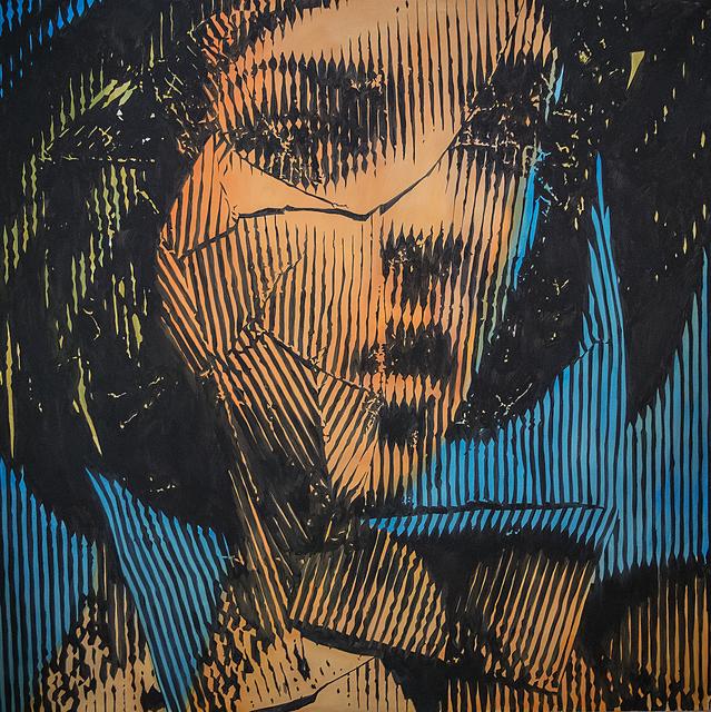 , 'Untitled Deconstruction,' 2015, Anna Laudel
