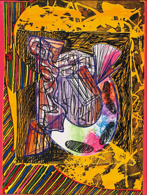Frank Stella, 'Bene come il sale', 1989, Print, Relief-printed etching and aquatint on TGL handmade paper, Artsy x Capsule Auctions