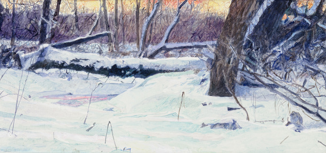 , 'Frozen Creek Cedaburg (study),' 2010, CK Contemporary
