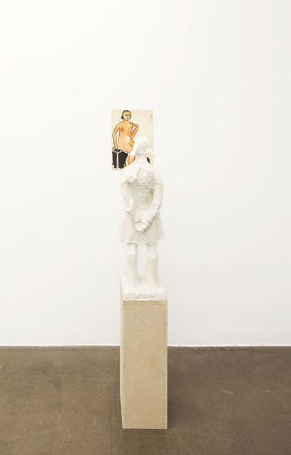 , 'Two Pedestals,' 2015, Krobath