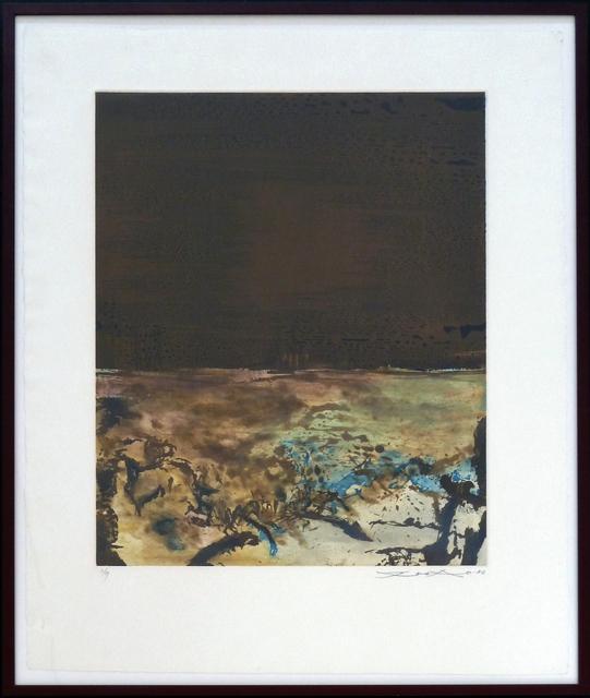 Zao Wou-Ki 趙無極, ' Etching No. 328', 1986, Gilden's Art Gallery