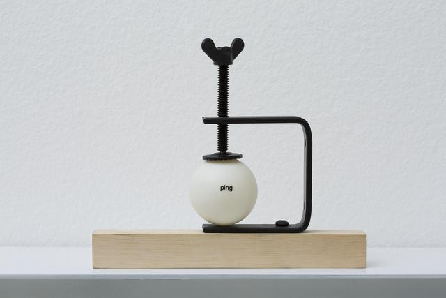 , 'Ping-Poem No 3, from series regarding forms,' 2014, Galeria Millan