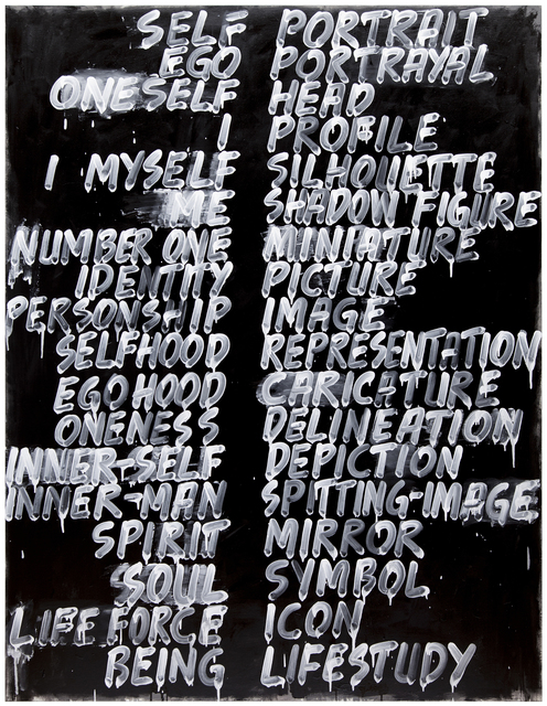 , 'Self / Portrait,' 2013, Bowdoin College Museum of Art