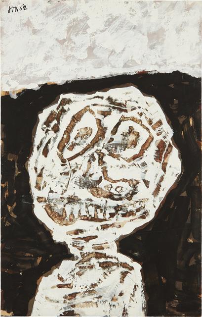 Jean Dubuffet, 'Buste (avec graffiti au couteau)', 22721, Phillips