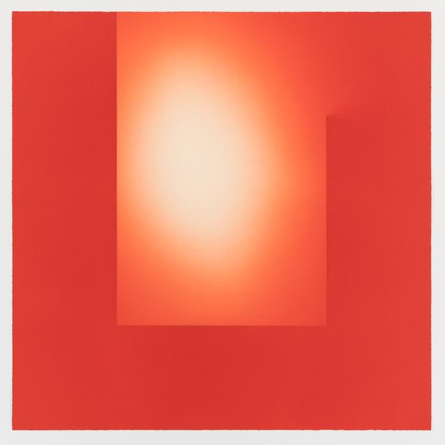 , 'Helica Cadmium Red (Heads),' 2018, Paul Stolper Gallery