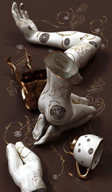, 'Golden Hour - Starbucks,' 2011, Sundaram Tagore Gallery