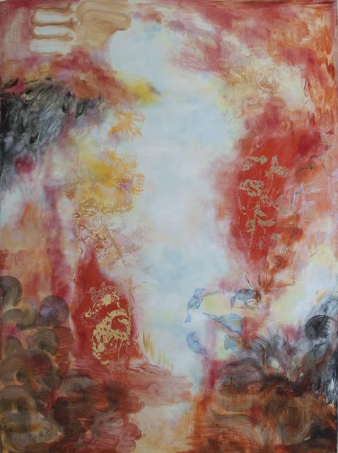 , 'Scarlet Flame,' 2017, Cross Contemporary Art