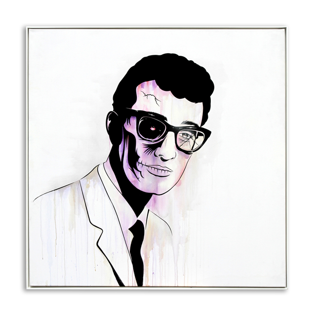 , 'Buddy Holly,' 2014, StolenSpace Gallery