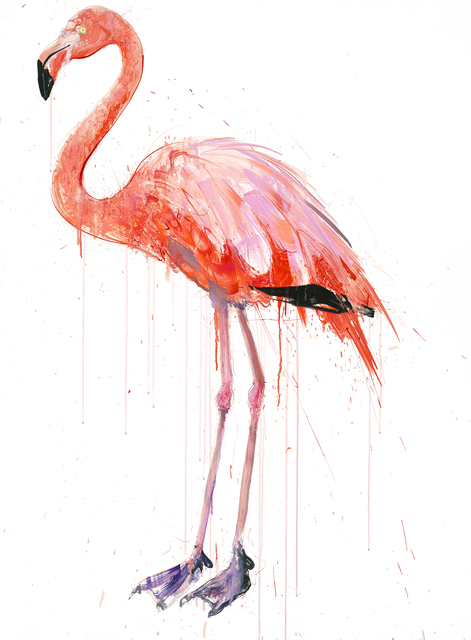 Dave White, 'Flamingo I', 2019, WellChild Benefit Auction