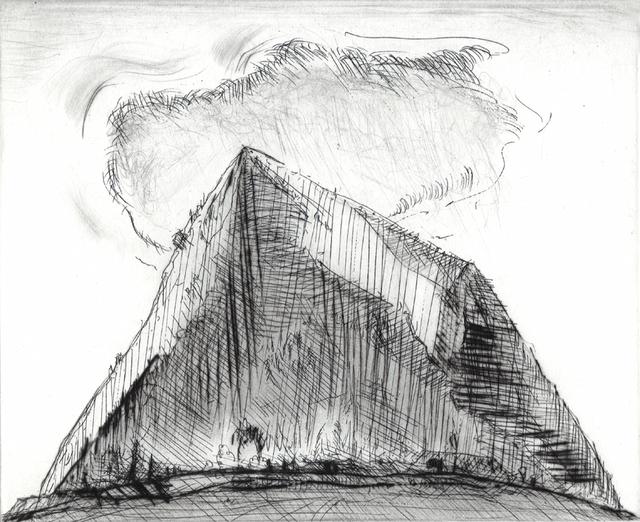 , 'Sierra Cloud,' 2011, Crown Point Press