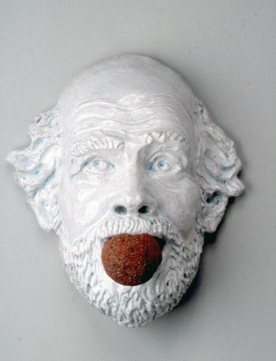 , 'Ceramic Gag No. 2,' 1991, Nathalie Karg Gallery