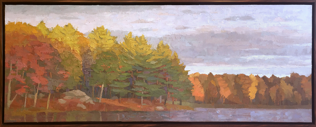 Brian Kiernan, 'Quiet Fall Evening on Otter Pond', ca. 2016, L'Attitude Gallery