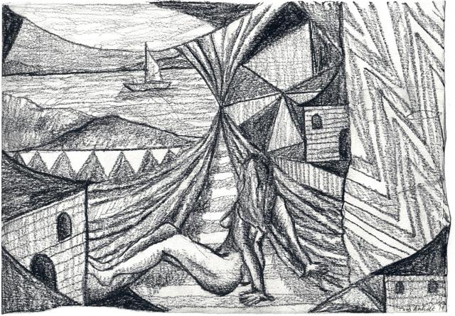 Tom Anholt, 'Passing Ships (Study)', 2019, Hakgojae Gallery