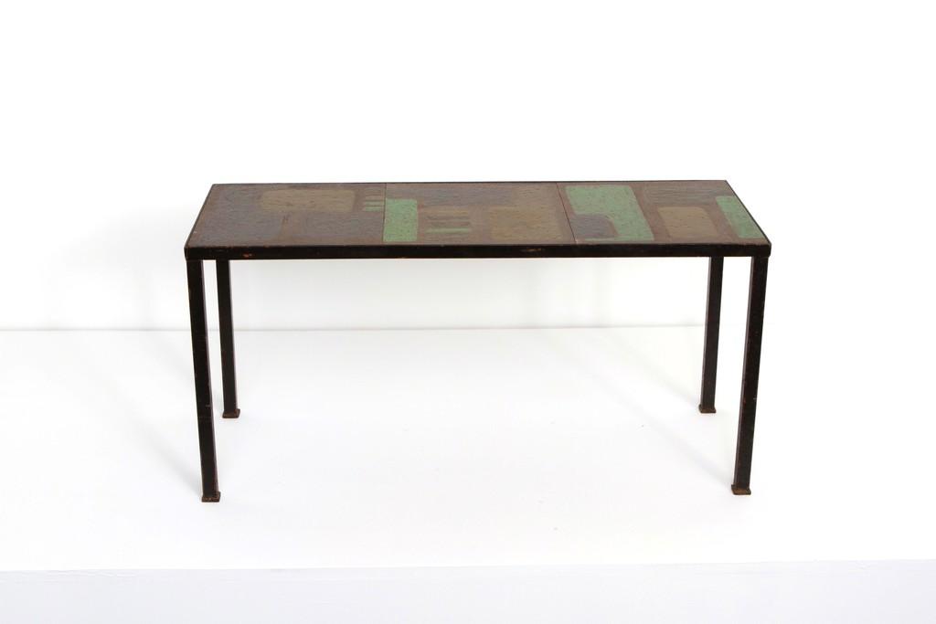 Denise gatard ceramic coffee table ca 1950 artsy - Artsy coffee tables ...