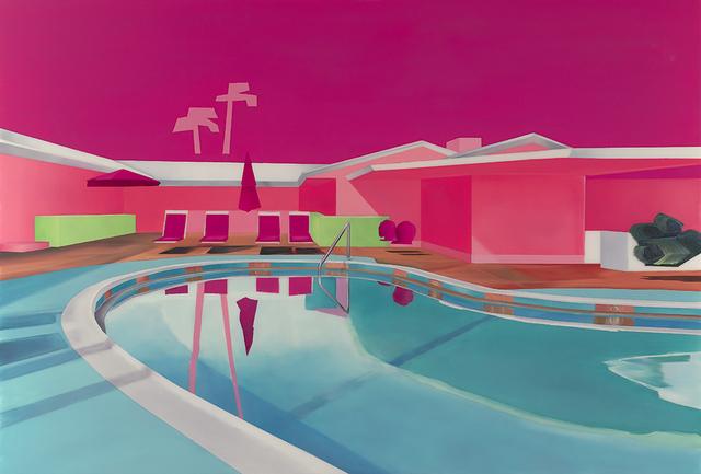 , 'Hotel Pool #5,' 2017, Roman Fine Art